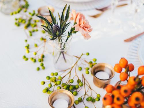 Allestimento tavolata matrimonio - Foto Fabrizio Di Domenico