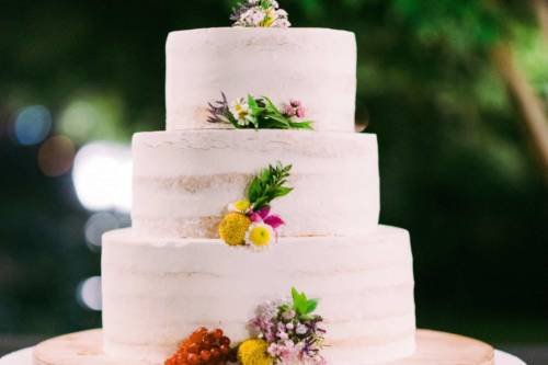 Torta Naked nuziale Magnolia Eventi