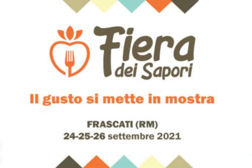 Fiera dei Sapori 2021 Frascati - programma